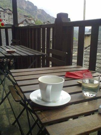 alla napoleonica: Balkon Aufenthaltsraum