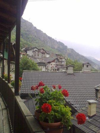 alla napoleonica: Aussicht vom Balkon Aufenthaltsraum
