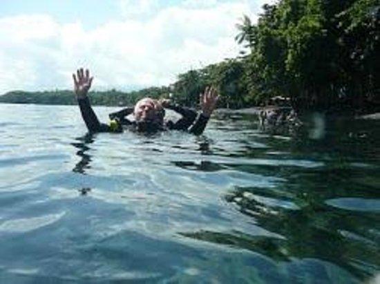 Pondok Bambu : Wat en prachtige duik naar het Scheepswrak