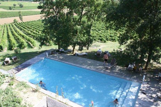 Chateau de Salettes: piscine