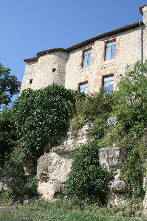 Chateau de Salettes: vue de la piscine