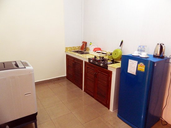 Natural House Boutique Hotel & Spa : Kitchen in Apartment