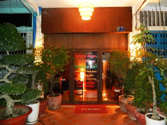 Natural House Boutique Hotel & Spa : The Entrance