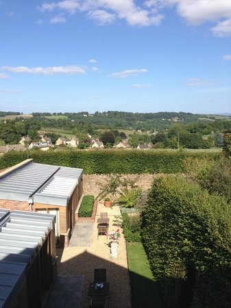 Homewood Park Hotel & Spa: view from room 14