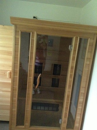 le sauna appartement vip picture of center parcs park eifel gunderath tripadvisor. Black Bedroom Furniture Sets. Home Design Ideas