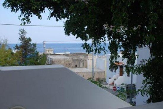 Residence La Villetta: Vista dalla  terrazza del nostro appartamento