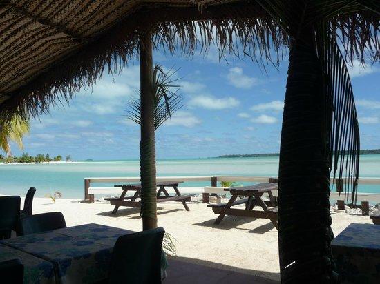 Aitutaki Village: View from the restaurant