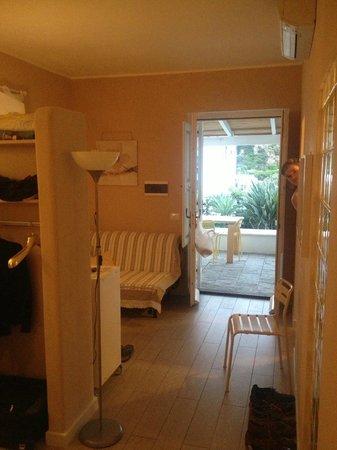 Villa Sea Rose: The living area