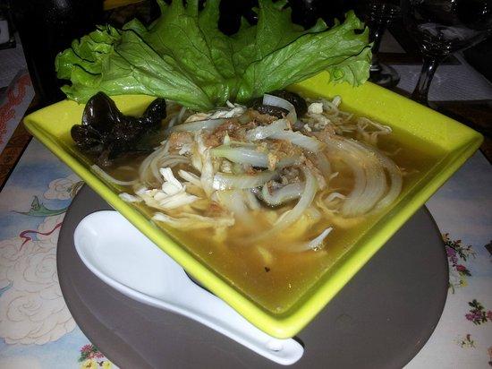 Au Coeur de L Asie : Chicken noodle soup
