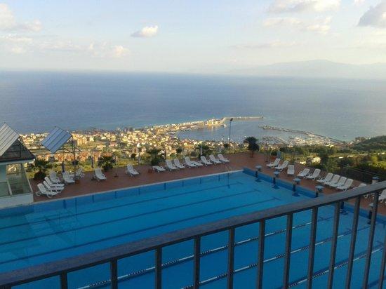 Hotel San Leonardo Vibo: panorama dalla suite Lipari