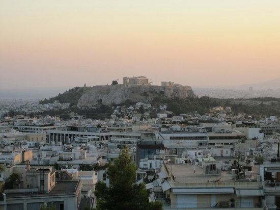 Saint George Lycabettus: A magnificent view from our room