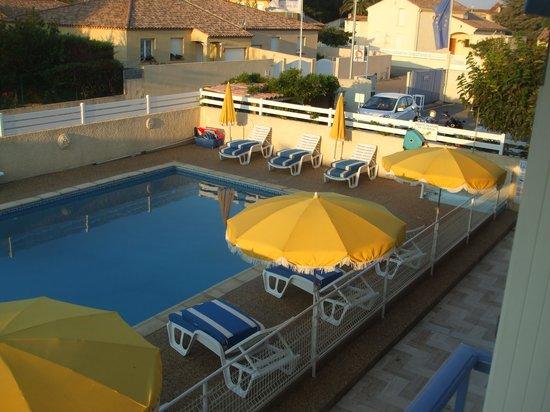 Hotel Restaurant Mucrina : vue depuis la chambre