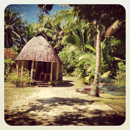Fafa Island Resort: Our Fale!! Stunning