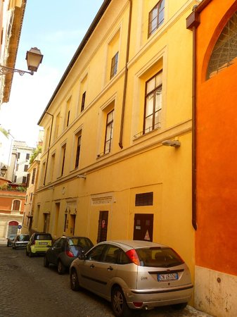 Hotel Santa Prassede: fachada
