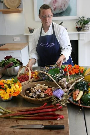 Demuths Cookery School: Helen, one of our tutors