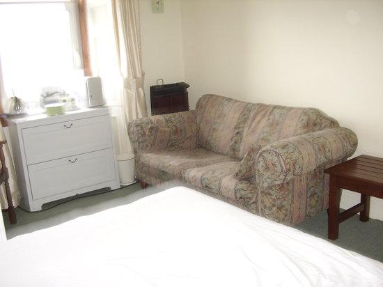 A Safe Haven: Kingsize bed Family room