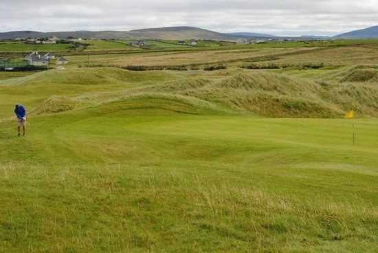 Carne Golf Links: the speedy greens