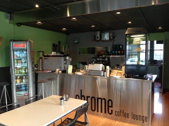 Chrome Coffee Lounge: Main domain