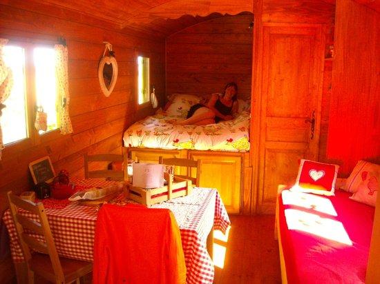La Ferme de Lintever : chambre