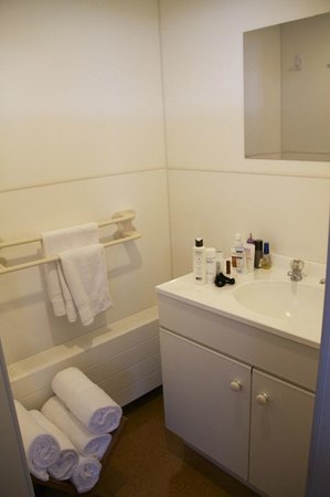 Discovery Lodge: Clean, good-sized bathroom