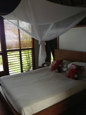 Mango Bay Resort Fiji: Bure looking out to Beach