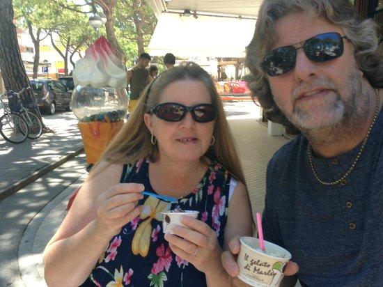 Monaco & Quisisana Hotel : mmmm ice cream!