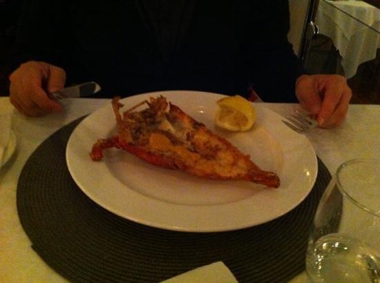 Ginger: great crayfish!