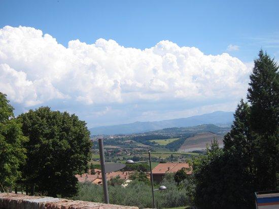 Pizzeria Pozzo Beccaro : The view