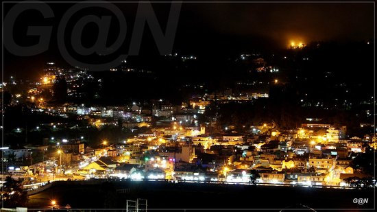 RK Holiday Homes: Night view from balcony