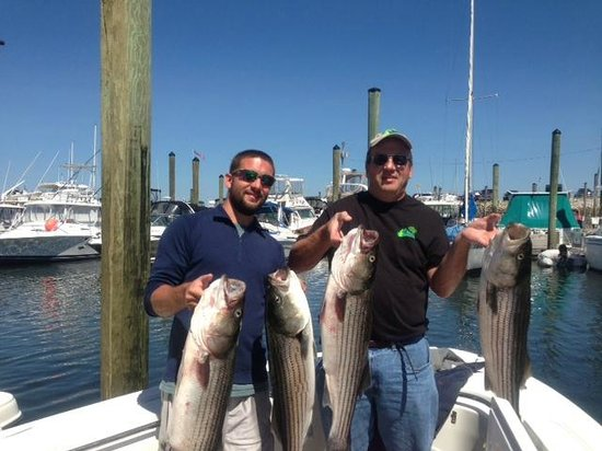 Reel Job Fishing Charters : Wow, we caught fish all day long !