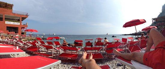 Spiaggia a Marina Piccola