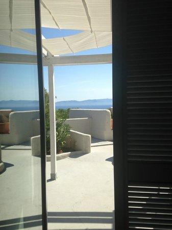Hotel Arenella : Vista da dentro la stanza