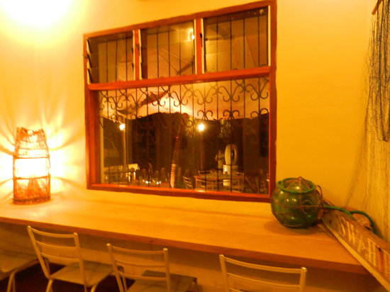 Jahazi Bar & Restaurant: Wi-fi zone