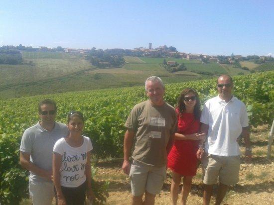 Kanpai Tours : Viñedo en Beaujolais