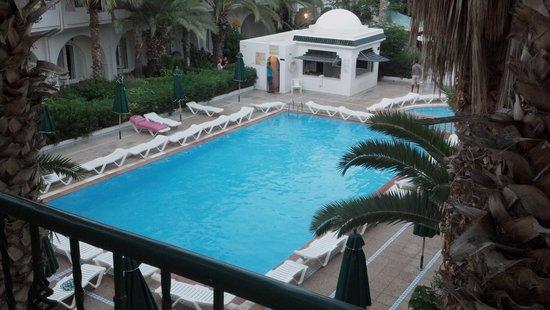 Hotel Emira : Vista desde el balcón de la habitación