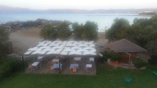 Elena Beach Hotel : vista dalla camera