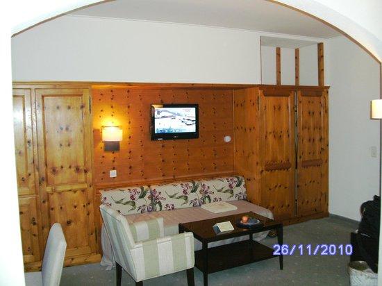 Morosani Schweizerhof Davos: living area