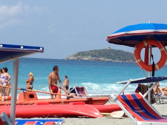 Hotel Diamante: Spiaggia hotel