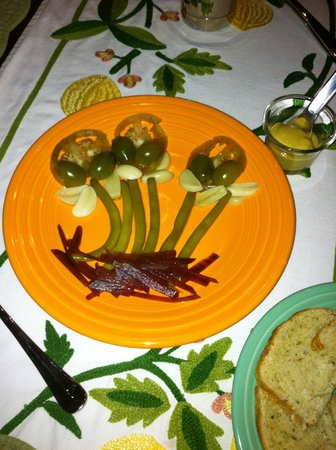 The Ira Allen House Bed and Breakfast: Local pickle plate
