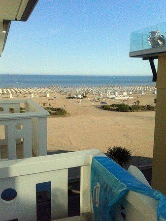 Hotel Principe Caorle : panorama dal nostro balcone della camera
