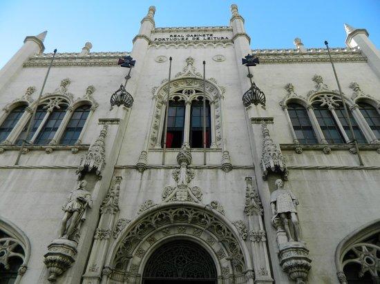 Real Gabinete Portugues Da Leitura : La facade