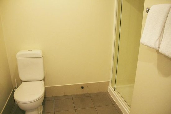 Best Western President Hotel Auckland: Spacious bathroom with shower stall