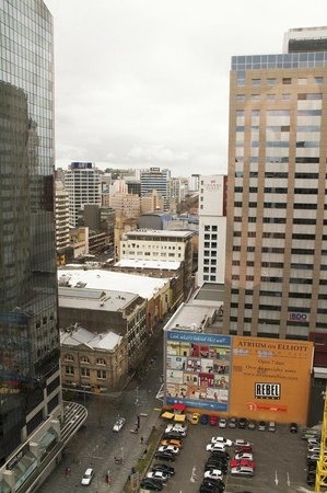 Best Western President Hotel Auckland : Awesome view