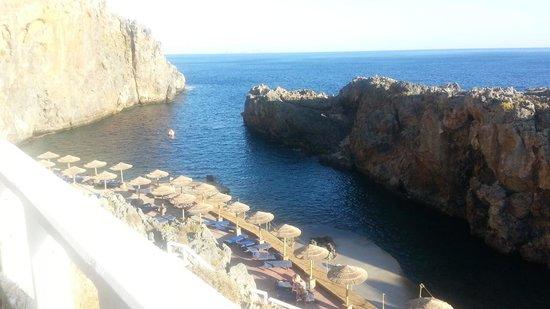 Kalypso Cretan Village : spiaggia dell hotel