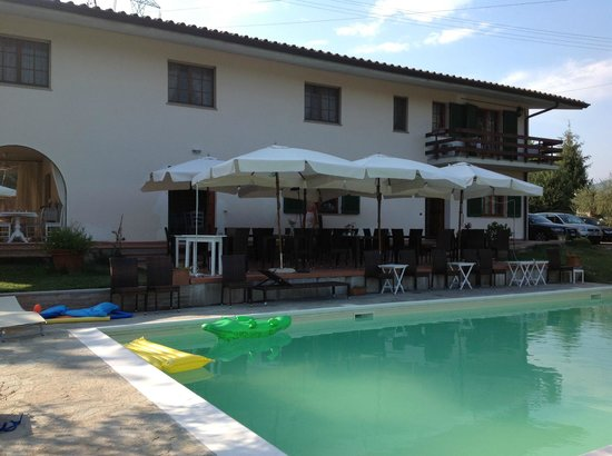 Agriturismo Le Contesse My Italian Country House: Veranda