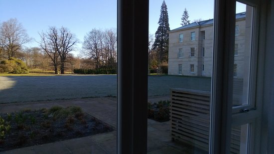 Rudding Park Hotel: view over the grounds from our room