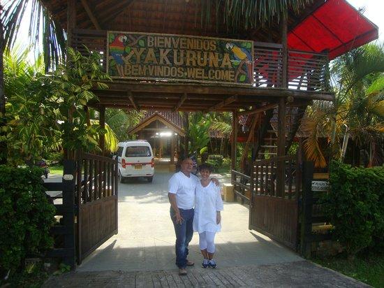 Cabanas Yakuruna : fachada de las cabañas jakuruna