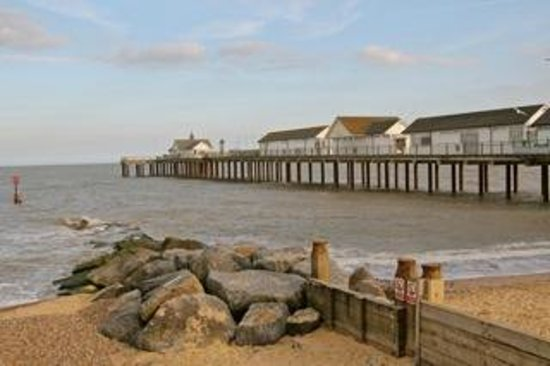 The Boardwalk Restaurant: Southwold Pier, where the Boardwalk is located