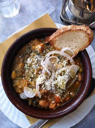 Il Pozzo degli Etruschi: Zuppa alla volterrana