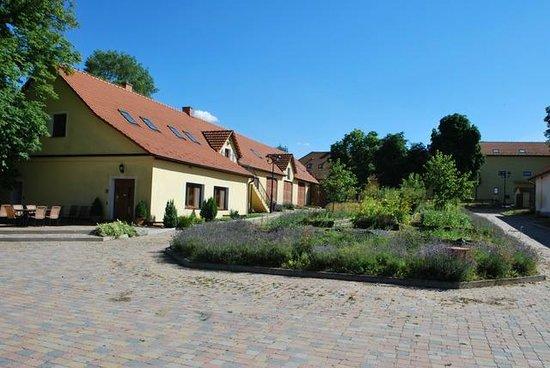 Bohemiae Rosa: Restaurant and herbs garden